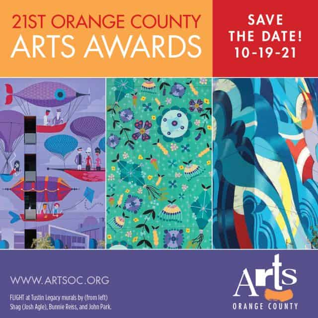 2021 Arts Awards Save the Date